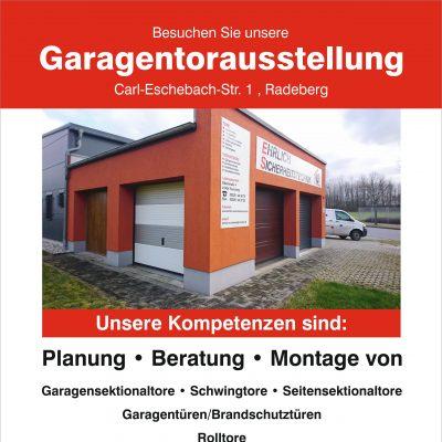 Garagentorausstellung